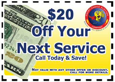 $25 off your next electrical service.