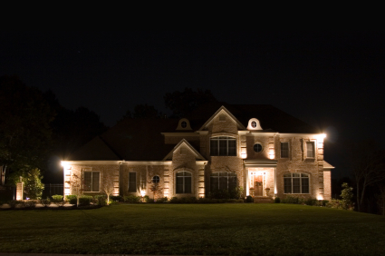 Los Angeles County landscape lighting